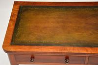 Antique Victorian  Mahogany  Leather Top Writing Table / Desk (8 of 9)