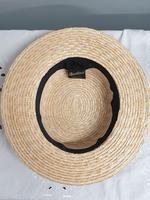 Borsalino Straw Boater Hat (7 of 8)