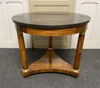 French Marble Top Empire Centre Table (2 of 16)