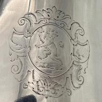 Antique George II Sterling Silver Pint Mug London 1728 Edward Vincent (6 of 7)