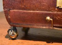 Fine Regency Leather Work Box (8 of 14)
