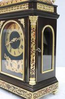 French 19th Century Ebonised & Boulle Religious Mantel Clock (5 of 10)