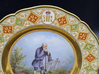 Very Important Russian Plate from Wolkonsky Dinner Service Made by KPM Factory (6 of 12)
