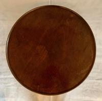 19th Century Circular Mahogany Occasional Table (3 of 4)