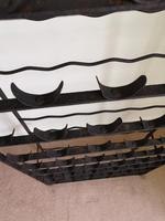 19th Century Wall-Mounted Wine Rack (5 of 5)