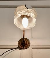 Victorian Wall Light with Flower Shade (2 of 8)