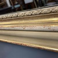 Very Large French Paint & Gilt Mirror (9 of 9)