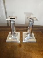 Pair of Silver Candlesticks (7 of 10)