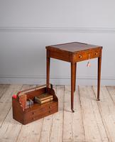 George III mahogany ladies writing desk or 'cheveret' (9 of 9)