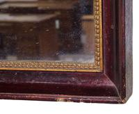Early Mid 19th Century French Rectangular Mirror (4 of 5)