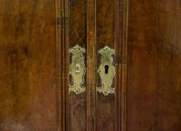 Geo III Style Walnut Corner Cabinet (5 of 5)
