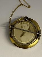 Victorian 15ct Pearl & Diamond Locket Brooch (3 of 6)
