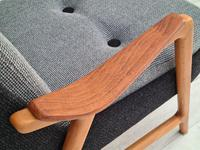 Danish Design, 60s, Completely Restored Armchair, Furniture Wool (6 of 16)