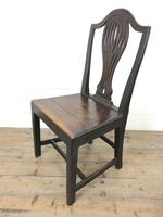 Set of Four Welsh Oak Farmhouse Chairs (9 of 10)
