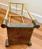 Victorian Brass & Cast Iron Stick Stand (6 of 8)