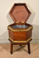 George III Octagonal Wine Cooler on Stand (3 of 6)