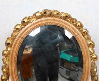 Neoclassical Marble Dressing Table Gilt Mirrored Vanity Satinwood (14 of 14)