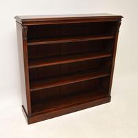 Antique William IV  Mahogany Open Bookcase (7 of 11)