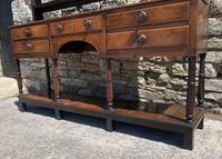 Antique Georgian Oak Potboard Dresser (24 of 28)