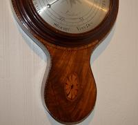 Rarer Early Wheel Barometer Gough High Holborn London (2 of 5)