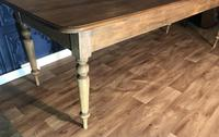 Large Victorian Pine Farmhouse Table (12 of 15)