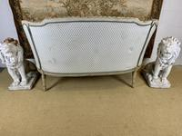 French Carved Wood Two Seat Settee (6 of 7)