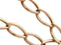 9ct Yellow Gold Bracelet - Antique c.1910 (3 of 9)