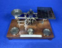 Victorian Mordan Letter Scales. (10 of 19)