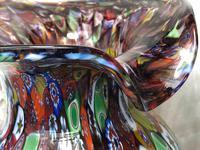 2 Italian Murano 20th Century Fratelli & Torso Millefiori Glass Vases (2 of 15)