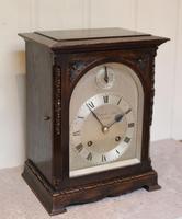 Oak Bracket Clock Supplied By Harrods (2 of 11)