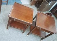 Pair of Low Side Tables (2 of 5)