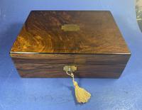 Victorian Walnut Jewellery Box (13 of 13)