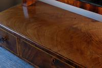 19th Century Mahogany Dressing Table Mirror with Three Drawers (18 of 21)