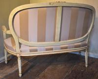 Fine Small Painted & Gilded Sofa (11 of 11)