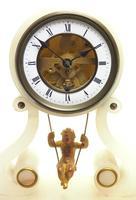 Rare Antique French Farcot Mantel Clock 8-Day Swinging Cherub Mantel Clock (2 of 11)