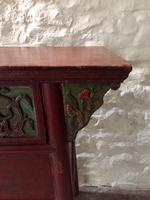 Chinese Altar Table, Painted with Fish & Fauna (5 of 12)