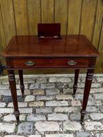 Gillows Small Mahogany Writing Table (3 of 6)