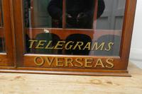 19th Century Mahogany Estate Office Mail Cupboard (10 of 10)