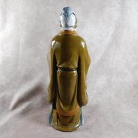 Large Shiwan (Shekwan) Ware Figure of Confucious Kong zi (5 of 7)