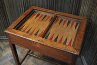 Antique French Tric Trac Games Table (6 of 6)