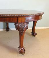 Wonderful Antique Victorian Mahogany Extending Dining Table (5 of 15)