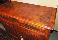French provincial Louis XIV cherrywood buffet (11 of 12)