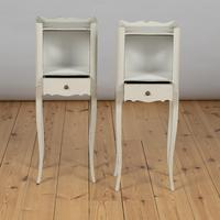 Pair of French Painted Bedside Cabinets Tables (2 of 5)