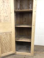 Antique Pine Narrow Food Cupboard (9 of 10)