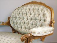 Good Quality Victorian Sofa in the French Taste (8 of 10)