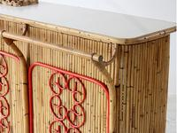 Mid-Century Bamboo Bar attributed to Bonacina (3 of 7)