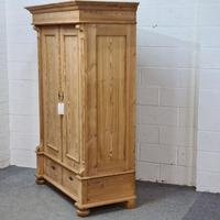 Small Old Pine Wardrobe Dismantles (3 of 5)