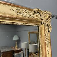 Very Large French Paint & Gilt Mirror (5 of 9)