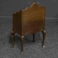 Early 20th Century Small Mahogany Bookstand (4 of 7)