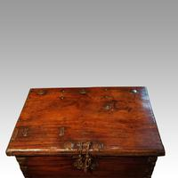 Antique merchant trunk (9 of 11)